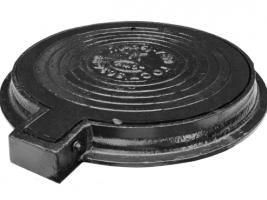 Люк канализационный легкий на шарнире ГОСТ 3634-99