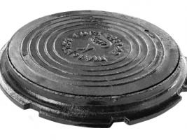 Люк канализационный (тип лёгкий) ГОСТ 3634-99