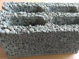 Керамзитоблок пустотелый 4-х пустотный легкий, теплый