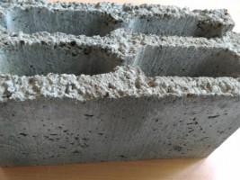Керамзитоблок пустотелый 4-х пустотный тяжелый, холодный